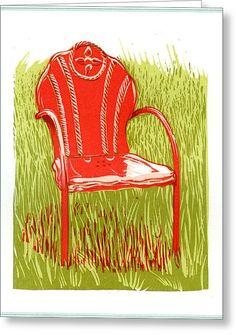 vintage metal lawn chair -pinterest - Google Search