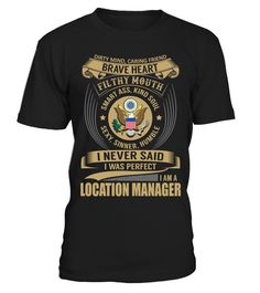 Tshirt  Location Manager  fashion for men #tshirtforwomen #tshirtfashion #tshirtforwoment