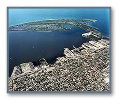 Erie, PA, aerial phto
