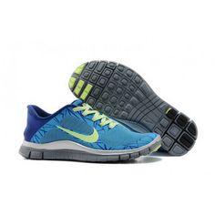 huge selection of a6a97 b3c39 Women Nike Free 4.0 V3 Blue Saphire Shoes Nike Free, Kengät 2014, Naisten  Nike