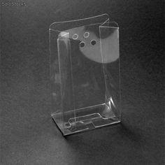 Caja Acetato Transparente Sobre con orificios