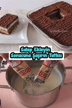 Salep Ekleyin Sonucuna Şaşırın Tatlısı – About Dessert World Bread And Pastries, Easy Cake Recipes, Yams, Food Presentation, Yummy Cakes, Tea Time, Cheesecake, Food And Drink, Sweets