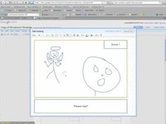 How to use the storyboarding template in Google Docs for your videos (via Daniel Rezac, Google Apps for the Class)