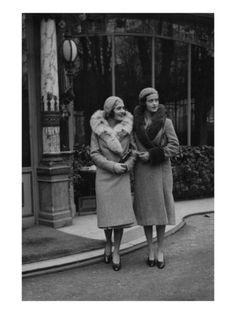Vogue - marzo de 1930  por George Hoyningen-Huene