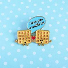 Enamel Pins by Queenie's Cards