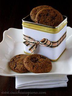 Biscoito de chocolate e gengibre