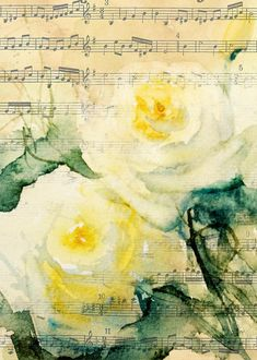 Song Of Roses Painting - Sandra Strohschein