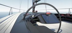 The Peugeot Design Lab concept yacht has an innovative architecture including a deck that flows completely over the cabin area. Due to the unbroken sweep of glass panels around the hull, the inter 3008 Peugeot, Peugeot 205, Innovative Architecture, Boat Projects, Nautical Design, Yacht Design, Design Lab, Sailboat, Transportation