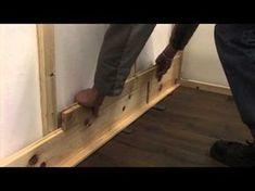Laminatboden An Der Wand Montieren U2013 Verlegeanleitung HARO Laminat  (deutsch)   YouTube