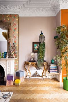 See Inside Matthew Williamson's Eclectic, Flamboyant London Home What's Decoration? Decoration could be the art of decorating the interior and … Home Design, Interior Design Trends, Interior Styling, Living Etc Magazine, Matthew Williamson, Flamboyant, Indian Home Decor, Interior Exterior, Interior Livingroom
