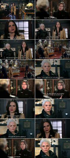 "Regina, Gold and Emma Swan - 5 * 11 ""Swan Song"""