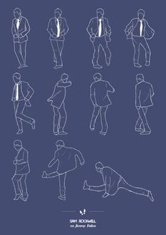 Brazilian Niege Borges has created the Tumblr: Dancing Plague of 1518 posters with the steps of dances found in famous movies and TV shows to inspire you.
