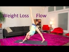 """""""Weight Loss Core Flow"""" by Tara Stiles---this video will get the blood pumping! Fun video that builds strength in the body too. Enjoy!"""