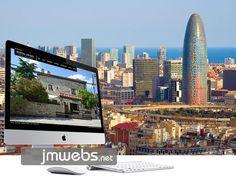 Ofrecemos nuestro servicio de diseño de páginas web en Barcelona. Diseño web personalizado y a medida (Barcelona). Más información en www.jmwebs.com - Teléfono: 935160047