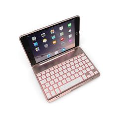 007c8d021bf For iPad Pro 10.5 Slim Smart Folio Stand PU Leather Case Cover With Apple Pencil  Holder+Detachable Wireless Bluetooth Keyb…