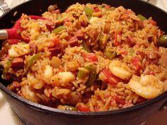 Delícias do JJ: A deliciosa Jambalaya de New Orleans.