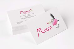Geboortekaartje Maren (Design by Charlotte Hertsens Design)