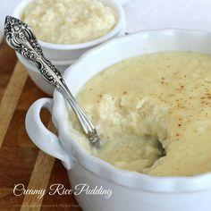 Creamy Rice Pudding using sweetened condensed milk recipe