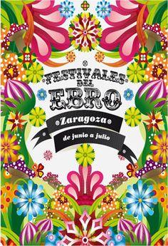 Cartel Festivales del ebro año 2011