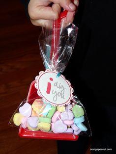 Valentine Classroom Treat - I Dig You