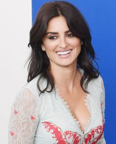 """Penelope Cruz wearing a Temperley London Resort 2018 dress at the """"Loving Pablo"""" photocall during the 74th Venice Film Festival"""