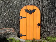 Fairy Door fairy garden halloween miniature by TheLittleHedgerow, $16.50