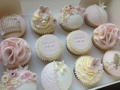 Hen do pretty cakes