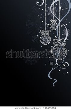 Christmas Background Stock Vector (Royalty Free) 157469318 - Linci - Source by background Christmas Doodles, Christmas Mood, Christmas Lights, Vector Christmas, Xmas, Christmas Poster, Black Christmas, Noel Christmas, Christmas Background