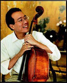 Yo Yo Ma...incredible cellist (and friend to Mr. Rogers)