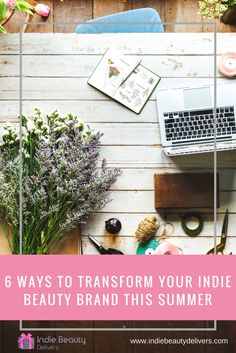 7 Steps To Makeover Your Online Beauty Brand - Indie Beauty Delivers 7 Day Challenge, Workshop Design, Wedding Show, Industrial Wedding, Real Flowers, Brand You, Wedding Planner, Indie, Projects To Try