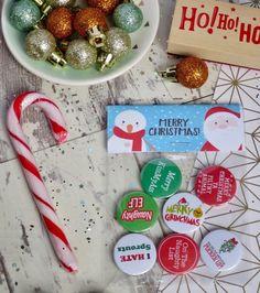 Christmas elf Badges