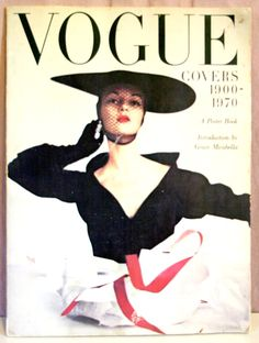 Vintage VOGUE Covers 1900-1970 A Poster Book - 1978