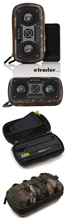 Awesome camo portable speaker allows you to play music from your phone, tablet or computer! Rugged, weather resistant shell protects the speaker and your gear. Camping And Hiking, Tent Camping, Glamping, Speaker Price, Gifts For Hunters, Hunting Gear, Camping Accessories, Wireless Speakers, Camo
