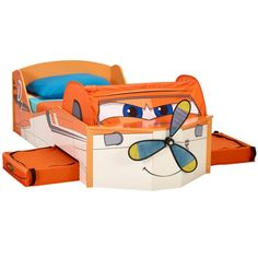 Disney Planes Feature Toddler Bed