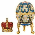 The first Faberge Egg was made for Tsar Alexander III, who commissioned Peter Carl Fabergé to create a unique Easter egg to give to his wife, the empress Maria Ferdorovna. After his death, his son Nicholas II continued the tradition, presenting one to his wife and mother. Between 1885 and 1916, the House of Fabergé presented the Tsar and his royal family with an Easter egg during every Russian Orthodox Easter.