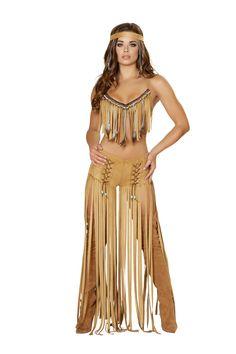 Native American Indian Women Cherokee Hottie Halloween Costume