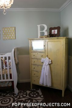 Poppy Seed Projects: Baby Girl Nursery - No Pink In Sight