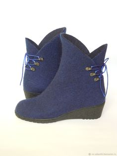 Wool Shoes, Leather Shoes, Leather Bag, Clog Boots, Slipper Boots, Felt Boots, Felted Slippers, How To Make Shoes, Wool Felt