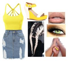 """""""Sunshine"""" by toplayfulforyou ❤ liked on Polyvore featuring LE3NO"""
