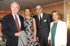 Renzo Piano; Milly Piano; Luigi Maramotti; Elisabetta Trezzani