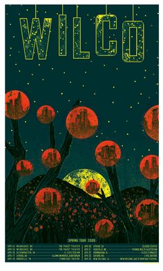Wilco music gig posters | Gig Poster Love