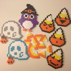 Halloween perler beads by erika_thatsme