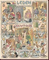 Josef Lada calendario http://universocheco.blogspot.com.es/2012/09/josef-lada-calendario.html