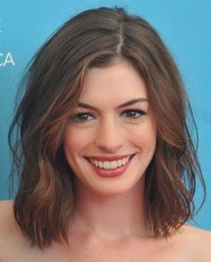 Anne Hathaway - hair inspiration.