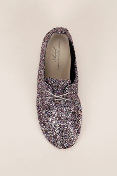 Derbies paillettes multicolores Lamg - Anniel