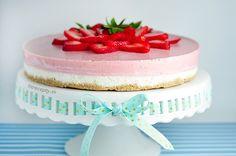 Ako sa pripravujete na prichdzajci horci tde? Easy Desserts, Dessert Recipes, Healthier Desserts, No Bake Cake, Vanilla Cake, Deserts, Clean Eating, Good Food, Paleo