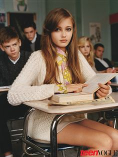 Ella Purnell in Teen Vogue's Young Hollywood Issue October 2010 | TeenVogue.com Photographer: Alasdair McLellan