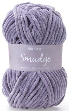 Sirdar Smudge a beautifully soft chenille yarn the colours are fantastic soft pastels and warm darker shades this smudgy yarn is perfect for cozy Jackets and cuddly cushions. www.purplelindacrafts.co.uk