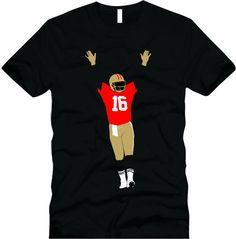 Joe Montana celebration   San Francisco 49ers by CoastalClothingCo, $20.00