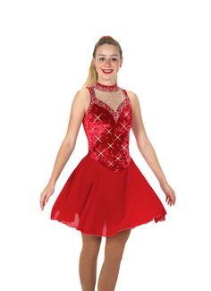 Jerry's Ice Skating Dress 134 - Ballroom Bling Dance - FigureSkatingStore